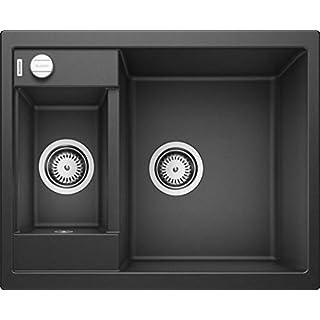 Blanco Metra Silgranit PuraDur Kitchen Sink,Black (anthrazit-schwarz),60cm Base Cabinet