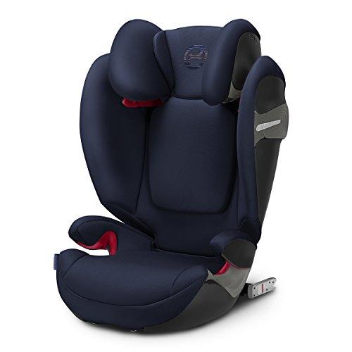 Cybex Gold Solution S-Fix, Autositz Gruppe 2/3 (15-36 kg), Kollektion 2018, Denim Blue, mit Isofix (ohne Isofix verwendbar)