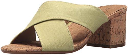 Aerosoles A2 Women's Midday Slide Sandal, Light Green Combo, 10 M US A2 By Aerosoles