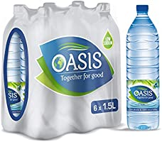 Oasis Still Water - 1.5 Litres (Pack of 6)