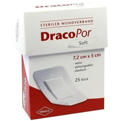 Preisvergleich Produktbild DRACOPOR Wundverband 7,2x5cm steril 25 St