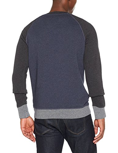 BOSS Casual Herren Sweatshirt Walkout Blau (Dark Blue 405)