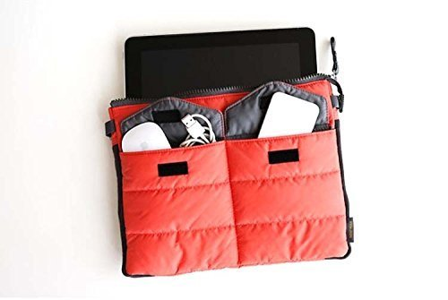 Togather® Multi-funzionale Nylon zip Gadget Pouch Bag in Organizer Bag