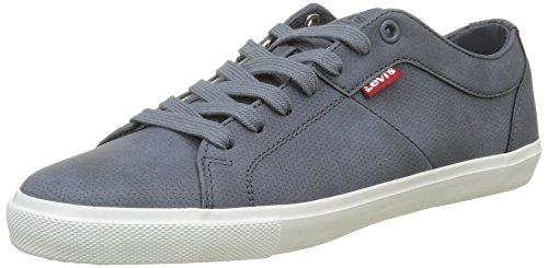 Levi's Damen Woods W Sneaker, Türkis (Dark Turquoise), 41 EU