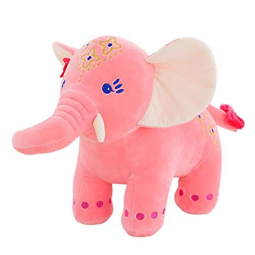 Juguete de peluche lindo creativo, muñeca de peluche juguetes de peluche Muñecas de peluche Muñeca volador Regalo de cumpleaños para niños Juguete de felpa rosa claro Pequeño elefante volador 35cm