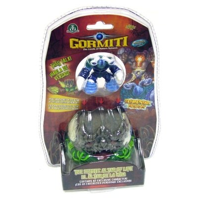 Gormiti Elemental Fusion 6cm Collectable Figure With Mystical Altar Base