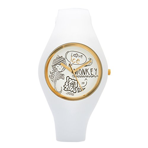 Ice-Watch Unisex Reloj de Pulsera Chinese Material de Silicona analógico de Cuarzo Caucho Ice.CNY.Do.u.s.16