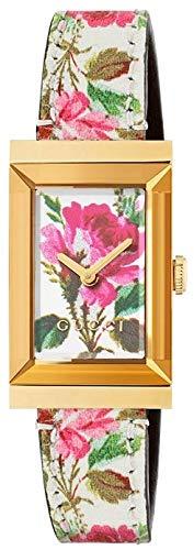 Gucci Floral G Frame Reloj YA147406