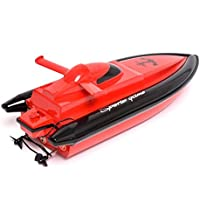 Price comparsion for Remote Control Boat, ADESHOP Radio Controlled High Speed RC Boat for Kids and Adults