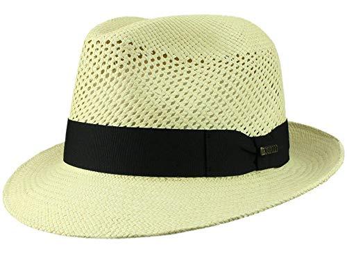 Bigalli Homme Chapeau Fedora Milano Fresh beige