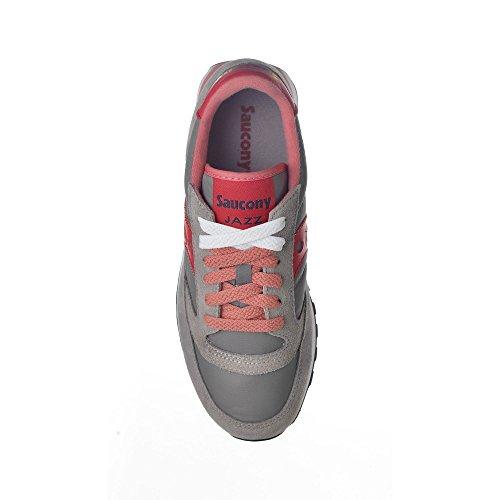 Dettagli su SAUCONY scarpe sneaker donna JAZZ ORIGINAL S1044 427 grigio e rosa