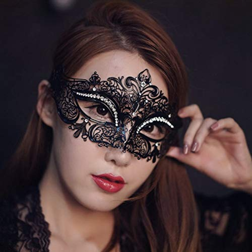 SKY TEARS Venetian Karneval Maskerade Maske Party Ball Halloween Metall Maskenball Damen