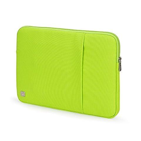 CAISON Tragbar Grün 10 Zoll Tablette Laptop Sleeve Case Schutzhülle Tasche für Apple 9.7