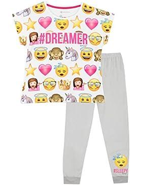Emoji Mädchen Emoji Schlafanzug