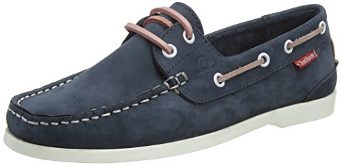 Chatham Women's Willow Boat Shoes, Blue (Navy Pink 006), 5 UK 38 EU