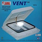 Fiamma Vent 160 Dachhaube - 40 x 40 - weiß