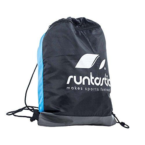 Runtastic Sports Bag Zaino Sportivo, Dimensioni 34 x 44 cm, Azzurro/Nero