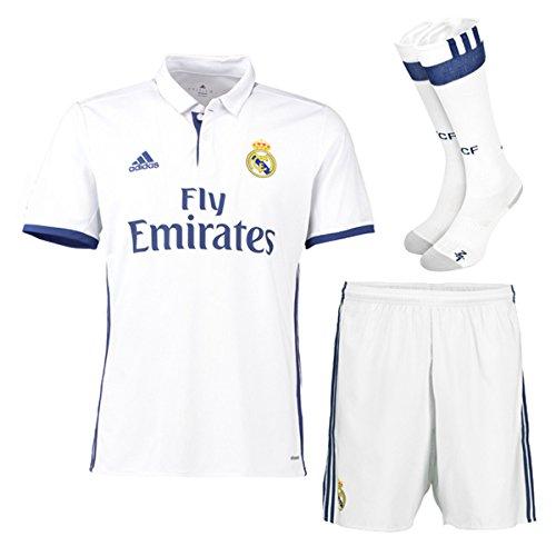 2f4e4797cd6 Real Madrid FC Home Kit pour Enfant 2015–2016 pour Homme Short et  Chaussettes