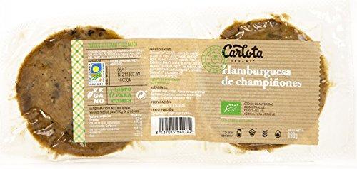 HAMBURGUESAS Vegetarianas DE CHAMPIÑONES Packs de 12