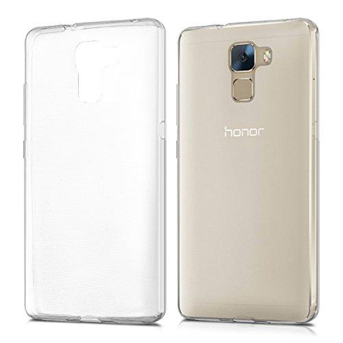 kwmobile Huawei Honor 7 / Honor 7 Premium Hülle - Handyhülle für Huawei Honor 7 / Honor 7 Premium - Handy Case in Transparent