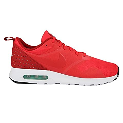 Nike Herren Air Max Tavas Sneakers, Rot (Action Red/Action Red-Gym Red-White), 44.5 EU