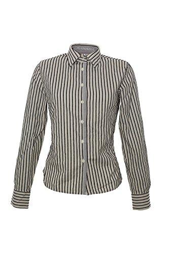 Murphy & Nye Bluse Mocha Damen Slim Fit Langarm, Farbe:weiß;Damengrößen:L