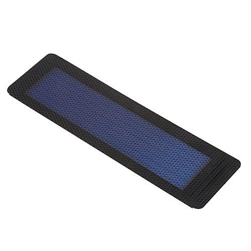 Dioche Solarpanel Ladegerät 2V 0.5W, Amorphes Faltbares Sonnenenergie Platten Ladegerät DIY Brett