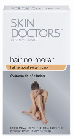 Skin Doctors Hair no More System - Komplettlösung zur Haarentfernung |Haarwachstum stoppen |Enthaarungsmittel | Schmerzfrei Haare entfernen |Hautschonend und sicher | Enthaarungscreme + Spray