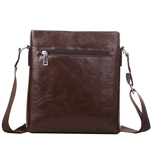 Yy.f Mannschulterbeutel Männer Und Lässige Kuriertasche Aktentasche Rucksack Vertikalschnitt Trend Herren-Beutel Farbe 2 A