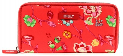 Oilily Classic Ivy Travel Wallet Tangerine (Travel Classic Wallet)