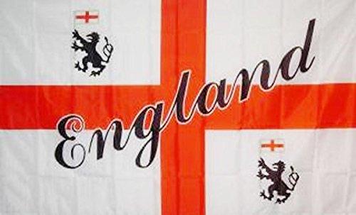 Sonia Originelli Fahne Flagge 90 x 150cm Fussball EM Party WM Handball Farbe England mit Schrift