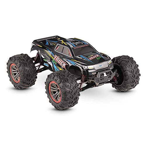 Ambility RC Monster Truck Car 1:10 Scale 4WD 2.4Ghz Off-Road Remote Control Car Toy Kids Gifts (10 Truck Scale Monster 1)