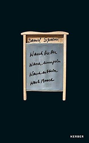 Daniel Spoerri: Waschbretter, Waschrumpeln, Waschrubbeln, Wash Board