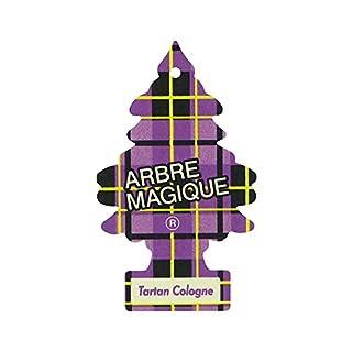 Abremagique 1710535 Lufterfrischer Wunderbaum Tartan Cologne Purple