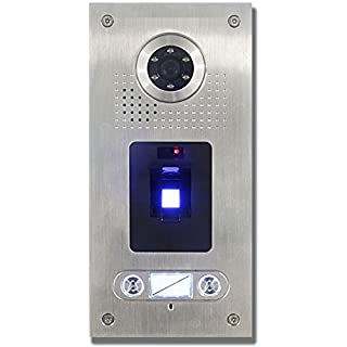 Anthell Electronics AE Farb-Videotürsprechanlage m. Fingerprint 2Fam.