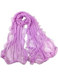 Cinnamou Mode Fille Solide Couleur Long Echarpe Douce Wrap Châle Etole  Foulards Pour Femmes 5ecc1a2a6f8