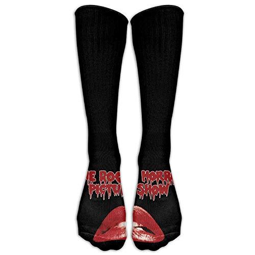 ouyjian Film Rocky Horror Bild Zeigen große Lippen Frauen Rohr Knie Oberschenkel hohe Strümpfe Cosplay Socken