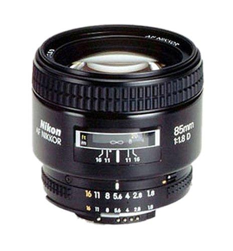 Nikon AF Nikkor 85mm 1:1,8D Objektiv (62mm Filtergewinde) (Manueller Objektiv Nikon)