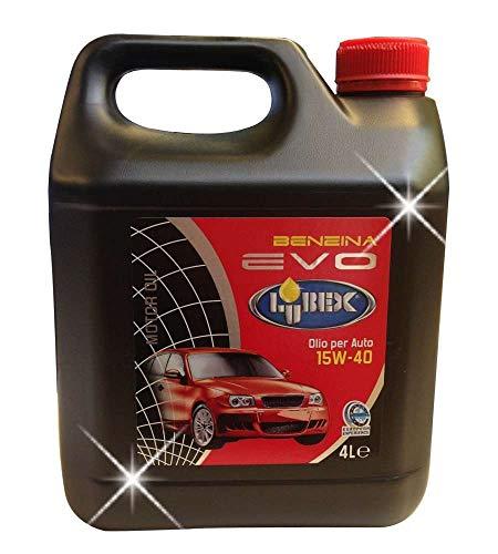 Olio 15W40 per motori a benzina 4