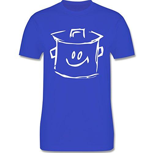 Küche - Kochtopf - Herren Premium T-Shirt Royalblau