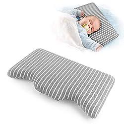 Gesundheit Kinder Kissen für Bett Schlafen Hypoallergenic Memory Schaum kinderkissen,Kinder Kopfkissen, Neck-Protector für Kinder (3-5 Jahre)