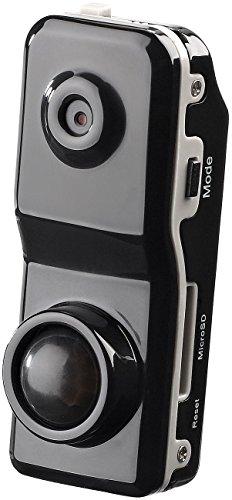 Somikon Überwachungskammera: Mini-Action-Cam Raptor-5000.pr mit PIR-Bewegungssensor (Sicherheitskamera)