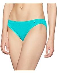 Jockey Women's Cotton Bikini Brief (SS02-0105-JTEAL_Small)