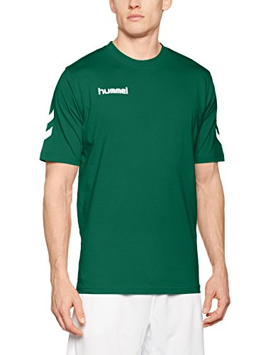 Hummel Herren T-Shirt Core Tee, Evergreen, L, 09-541-6140