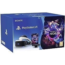 PlayStation VR MK3 + Caméra v2 + VR Worlds (voucher)