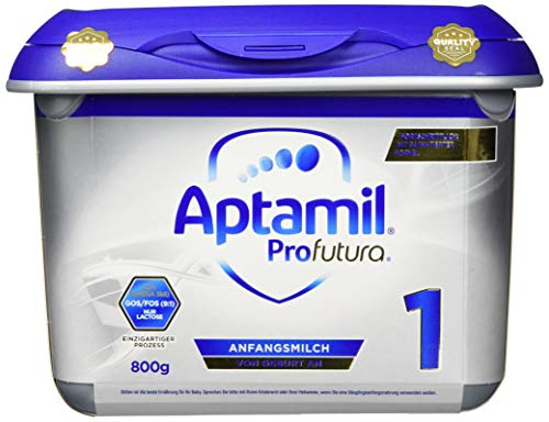 Aptamil Profutura 1 Anfangsmilch von Geburt an, 1er Pack (1 x 800 g)