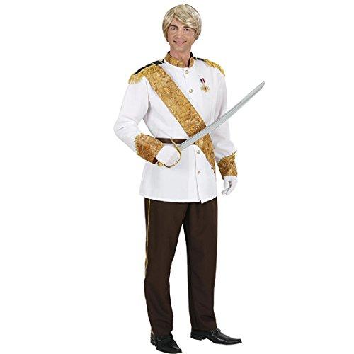 Märchenkostüme (Prinz Kostüm Prinzenkostüm S 48 Prinzen Märchenkostüm Märchenprinz Faschingskostüm Märchen Königskostüm König Prinzkostüm Karnevalskostüme)