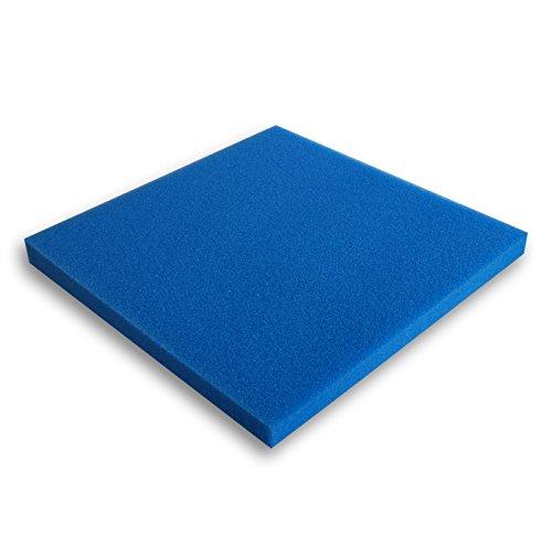 Filtermatte Schaumstoff 50x50x3cm 30ppi Teichfilter Aquarienfilter Filter Wasser
