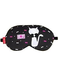 Right Products Eye Cooling Eye Mask Sleep Mask Cute Cartoon Airplane Flight Travel Sleeping Mask Eye Shade With...