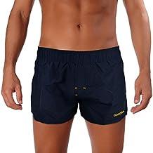 DK71448B Traje de baño para hombre DIADORA de cintura elástica en varios colores - Azul oscuro, M